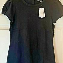 Banana Republic Shirt Lightweight Sweater Black Nwt Size Xs 58 Msrp Photo