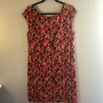 Banana Republic Soft Dress Medium. Comfortable Geometric Print Sleeveless Dress Photo