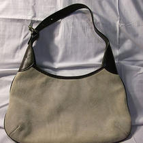 Banana Republic Suede Hobo Bagshoulderleathercreambrown Photo