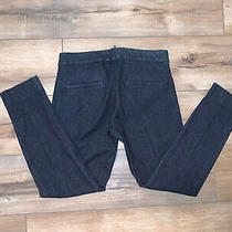 Banana Republic the Sloan Fit Womens Jeans Stretch Skinny Dark Wash Size 0  Photo