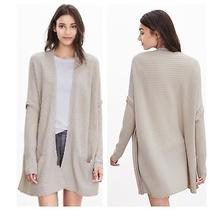 Banana Republic Todd & Duncan 100% Cashmere Layered Open Cardigan Nwt 340  M/l Photo