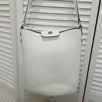Banana Republic White Italian Leather Purse Bag Nwt  Photo