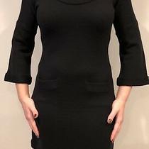 Banana Republic Womans Black Sweater Dress Size Xs Photo