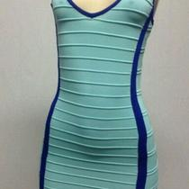 Bandage Bodycon Dress Sexy Like a Bebe Styled Dress Size Large Photo