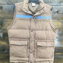 Banded Mens Brown Puffer Vest Jacket Coat Mens Size S Small Excellent Photo