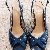 Bandolina Blue Slingbacks Photo