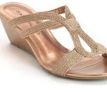 Bandolino Annipe Metallic Wedge Sandals Photo