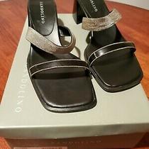 Bandolino Benoni Wedge Dress Sandals Size 8 1/2 Photo