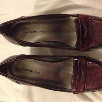 Bandolino Berry Wine Patent Croc Pumps 3