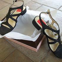 Bandolino Black Sandals 8.5m New in Box Photo