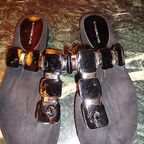 Bandolino Black Sandals 9m New No Box Photo