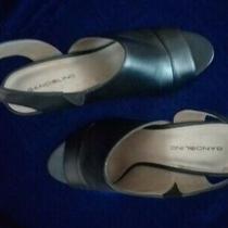 Bandolino Black Sandals Size 8 Photo
