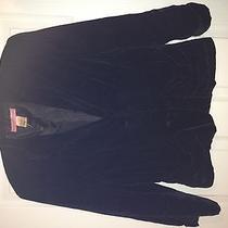 Bandolino  Black Velvet Blazer / Jacket Size 8 Photo