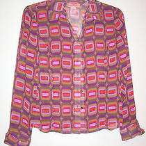 Bandolino Blouse Size 8 Photo