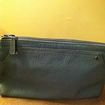 Bandolino Blue Leather Purse Photo