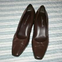 Bandolino Brown Leather Pumps Size 7 Photo