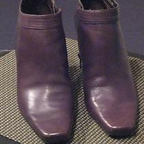 Bandolino Brown Leather  Women's Boots Size 7m Photo