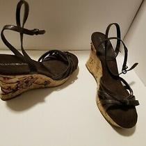 Bandolino Brown Sandals Size 9 Brand New Wedge Heels Photo