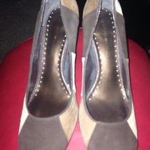 Bandolino Brown Suede Shoes  Photo