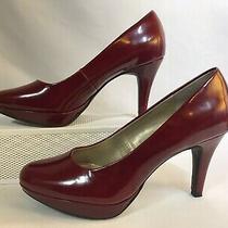 Bandolino Capture Women Red Platform Pump Shoe  6 M Photo