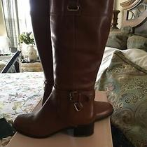 Bandolino Cazadora Cognac Knee High Boots Size 8 1/2 M -New in Box Photo