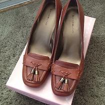 Bandolino Cognac Leather Pumps Photo