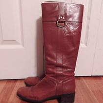 Bandolino Cognac Tall Boots - 8m Photo