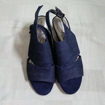 Bandolino Cork Wedge Sandals Perfect 8.5m Photo