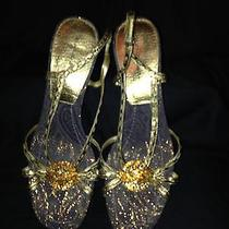 Bandolino Gold Heels Photo