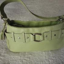 Bandolino Green Leather Bag Photo