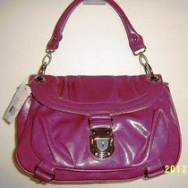 Bandolino Hobo Handbag - Ellame30 Violet - Flap Top Closure Tote Handbag  Photo