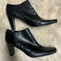 Bandolino Leather Ankle Boots Photo