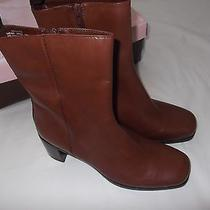 Bandolino Leather Boots Size 7.5 New in Box Photo