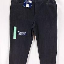 Bandolino Maureensz 8denim Stretch Capri Pantscomfort Waistrelaxed Hipnwtf Photo