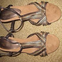 Bandolino Metallic Heels Photo