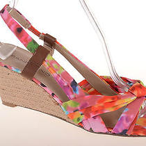 Bandolino Multicolored Bright Colorful Slingback 3