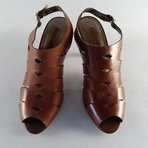 Bandolino Popfly Cognac Size 6.5 (Used) - No Reserve Photo
