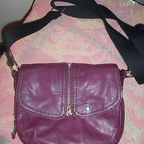 Bandolino Purple Crossbody Handbag Photo