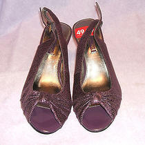 Bandolino Purple Heels Photo