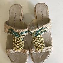 Bandolino Sandals Beaded Pineapple Size 7 1/2 M New Photo
