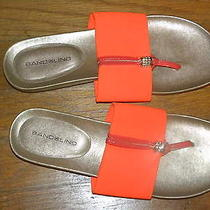 Bandolino Sandals Size 7m-Orange -Excellent Condition  Photo
