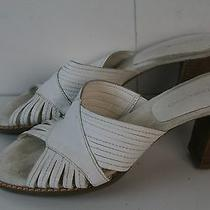 Bandolino Sandals White Color Women's Size 6 M Stk B Photo