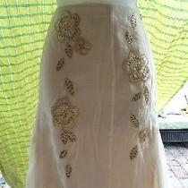 Bandolino Sheer Embellished Skirt - Comes With a Gift  Photo