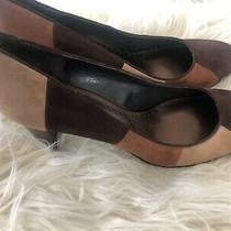 Bandolino Shoes Suede Pump Size 10.5 Photo