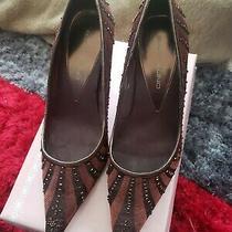Bandolino Size  8   Brownstone Heel Pointy Toe Photo