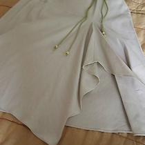 Bandolino Skirt With Tie Belt New With Tags Sand Color Size 10 Photo