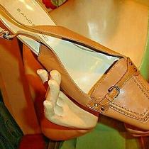 Bandolino 'Sonora' Slingback Heels Size 9  - - - -  - - Photo
