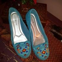 Bandolino Suede Beaded Shoe Photo
