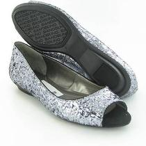 Bandolino Wilimena Flats Silver Womens Size 6 M New 69 Photo