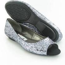 Bandolino Wilimena Flats Silver Womens Size 8 M New 69 Photo